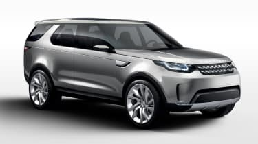 Land Rover Discovery SUV 2015 front three quarter
