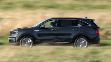 2020 Kia Sorento SUV - side view passing