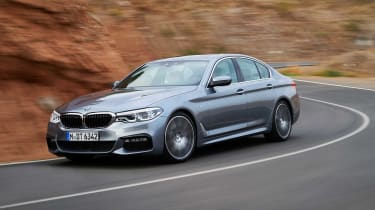 The BMW 5 Series is a genuinely impressive car to drive, with powerful engines and strong levels of grip