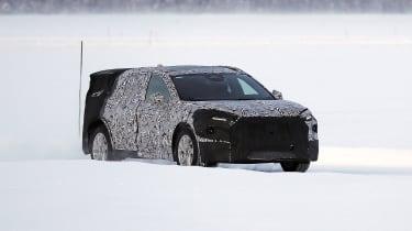Ford Mondeo SUV development model
