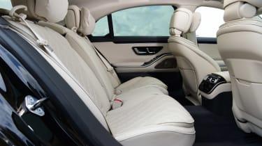 Mercedes S-Class saloon rear seats