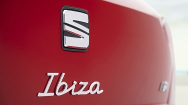 2021 SEAT Ibiza FR Desire Red - rear exterior detail