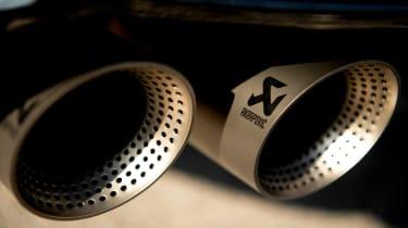 Volkswagen T-Roc R SUV Akrapovic exhaust