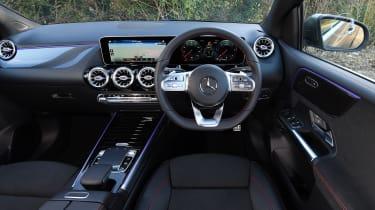 Mercedes B-Class MPV interior