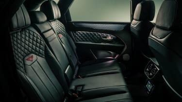 2020 Bentley Bentayga SUV - rear seats