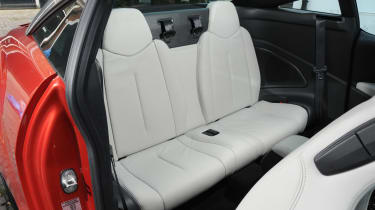 Peugeot RCZ rear seats