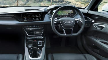 Audi e-tron GT saloon interior