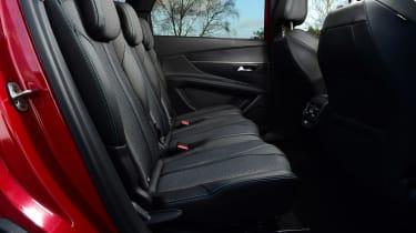 Peugeot 5008 SUV second row seats