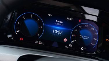 Volkswagen Golf Estate digital dashboard