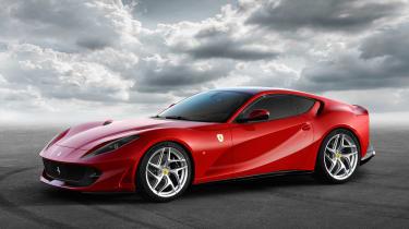 Ferrari 812 Superfast side static