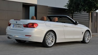 BMW 4 Series convertible rear right