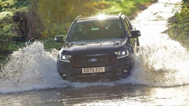 Ford Ranger Thunder - front view river crossing