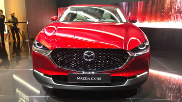 Mazda CX-30 SUV - Geneva - front close