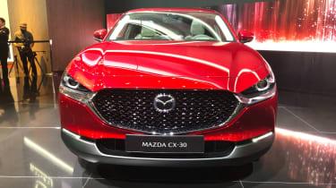 Mazda CX-30 SUV - Geneva - front close