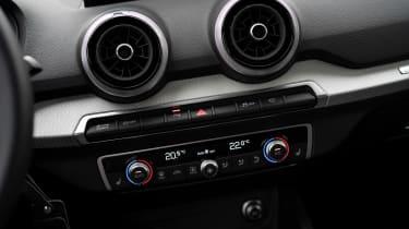 Audi Q2 SUV fascia