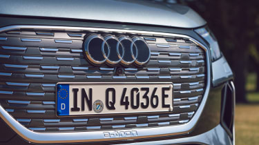 Audi Q4 Sportback e-tron grille
