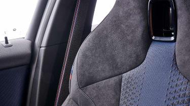 BMW M135i seat detail