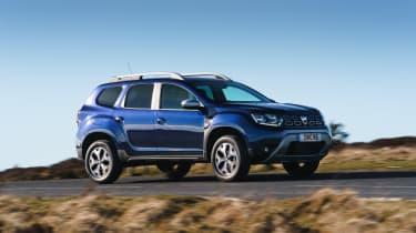 Dacia Duster Prestige driving