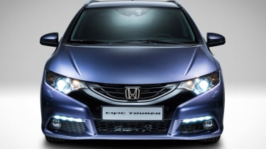 Honda Civic Tourer estate 2014 front
