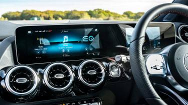 Mercedes GLA 250 e SUV dashboard
