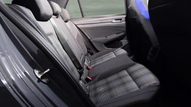 Volkswagen Golf GTE hatchback rear seats