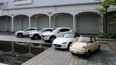Mazda 100th Anniversary special edition model line-up