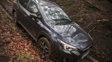 But, it's not too thirsty when you consider the XV also has four-wheel drive as standard