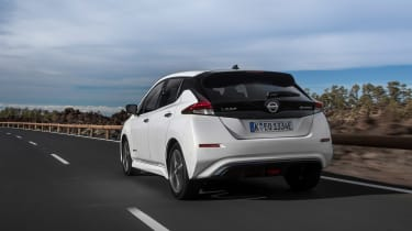It also has a better official range than rivals including the Volkswagen e-Golf and Hyundai Ioniq Electric