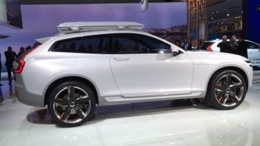Volvo Concept XC Coupe side profile static