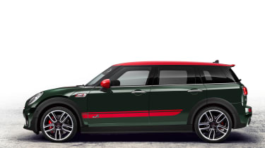 Rebel Green is a colour exclusive to the JCW
