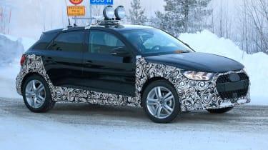 Audi A1 Allroad spy shot