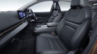 Nissan Ariya interior - side view