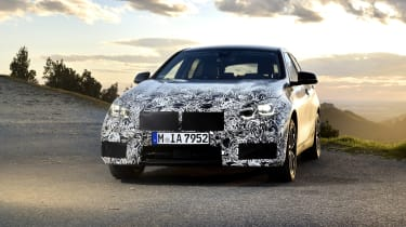 2019 BMW 1 Series pre-production - front static