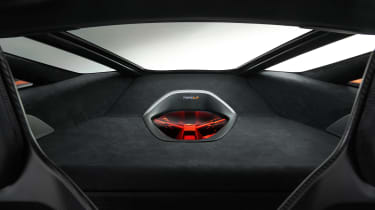 McLaren 765LT interior panel