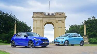 Vauxhall Corsa-e vs Renault ZOE