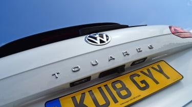 Volkswagen Touareg SUV tailgate