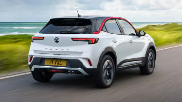 2021 Vauxhall Mokka SRi - rear 3/4 dynamic