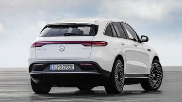 2019 Mercedes EQ C rear