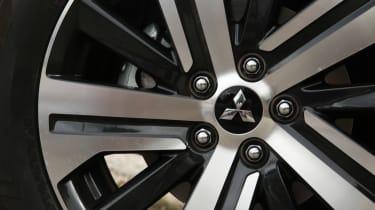 Mitsubishi ASX SUV alloy wheels