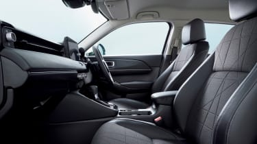 2021 Honda HR-V hybrid SUV - interior side on