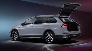 2020 Volkswagen Golf Estate Alltrack rear - boot open