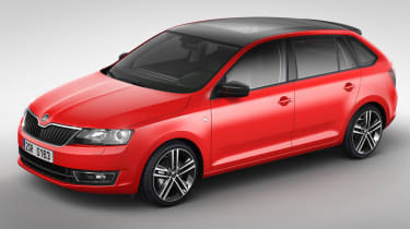 Skoda Rapid Spaceback hatchback 2013 main