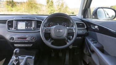 Kia Sorento SUV interior