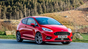 Ford Fiesta 2018 front