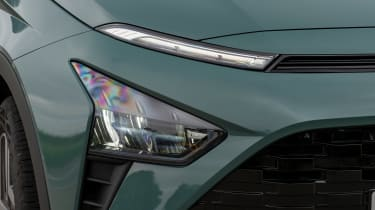 Hyundai Bayon SUV headlights