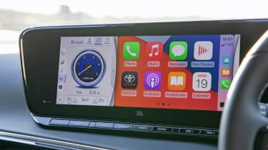 Toyota Mirai saloon Apple CarPlay