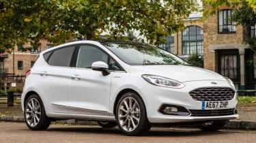 Ford Fiesta Vignale - three quarter