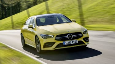 Mercedes-AMG CLA 35 Shooting Brake - front driving