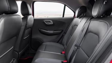 MG3 rear seats