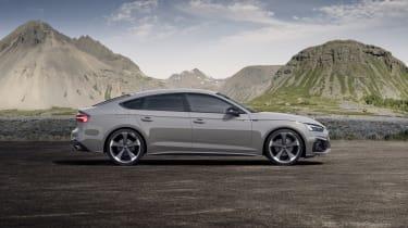 Audi A5 Sportback side view